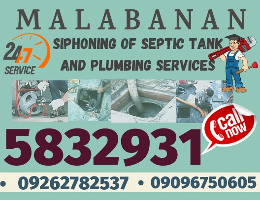 Philippines Classifieds lambunao 09096750605 malabanan siphoning services