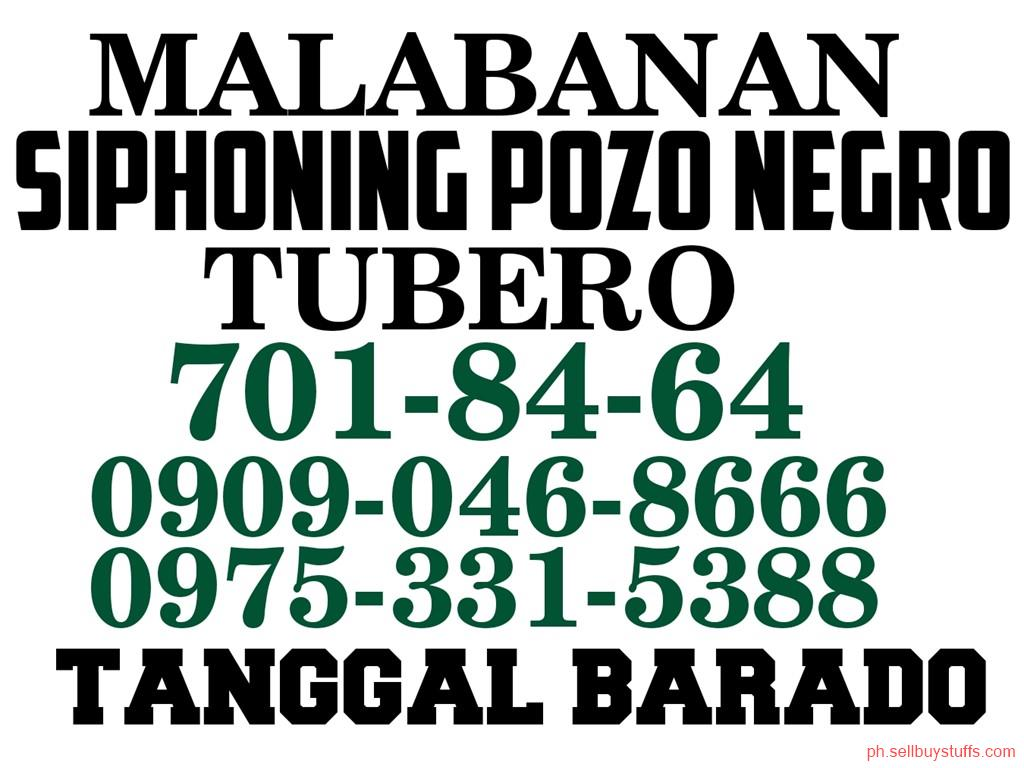 second hand/new: TUBERO TANGGAL BARADO QUEZON CITY 09090468666 09753315388 7018464 DECLOGGING