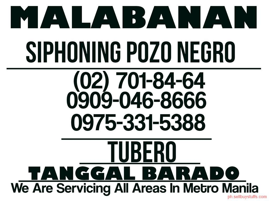 second hand/new: MALABANAN SIPHONING POZO NEGRO NOVALICHES QUEZON CITY 09090468666 09753315388 7018464 TUBERO