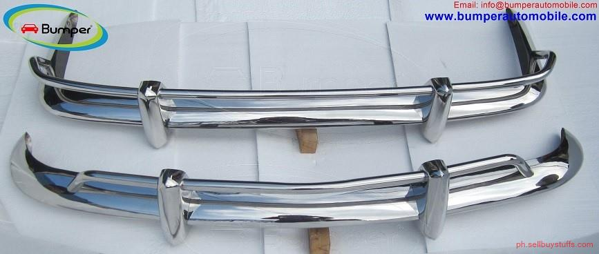 second hand/new: VW Karmann Ghia US type bumper (1955 – 1971) stainless steel