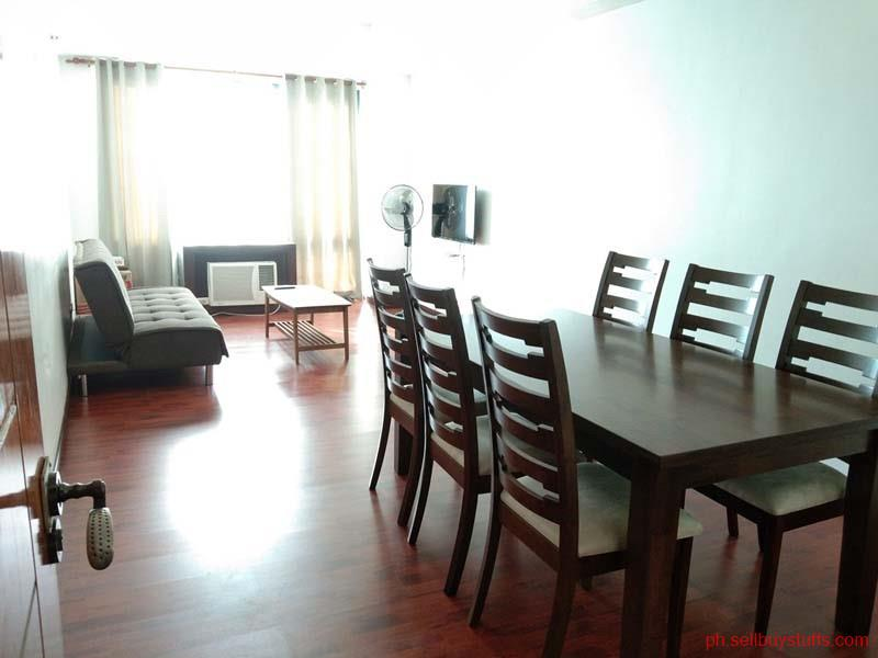 Philippines Classifieds Fully furnished Two bedroom Condo For Rent in Eastwood City Quezon City