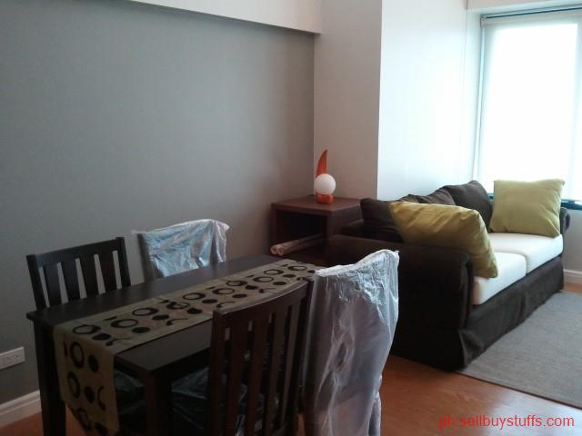 Philippines Classifieds Furnished One bedroom Loft with Parking for Rent in Rockwell Makati City