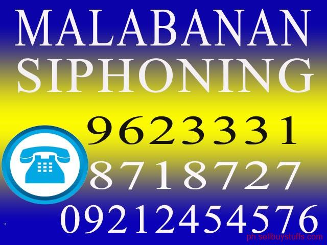 second hand/new: Malabanan Declogging Excavation Siphoning Services 0917-8832-279 / 962-3331