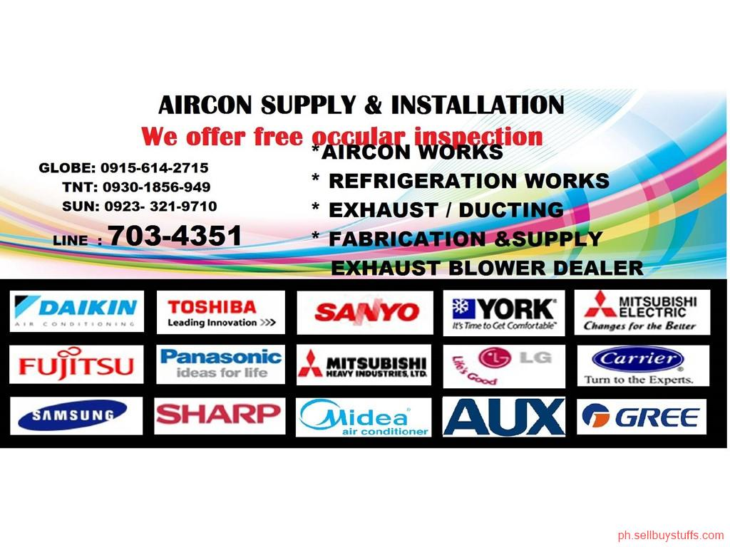 second hand/new: AIRCON CLEANING, AIRCON REPAIR, AIRCON INSTALLATION SERVICE