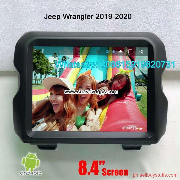Philippines Classifieds Jeep Wrangler 2019-2020 Car radio android GPS navigation camera