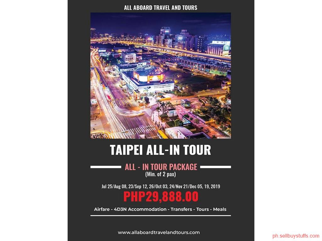 second hand/new: Taiwan All-In Tour