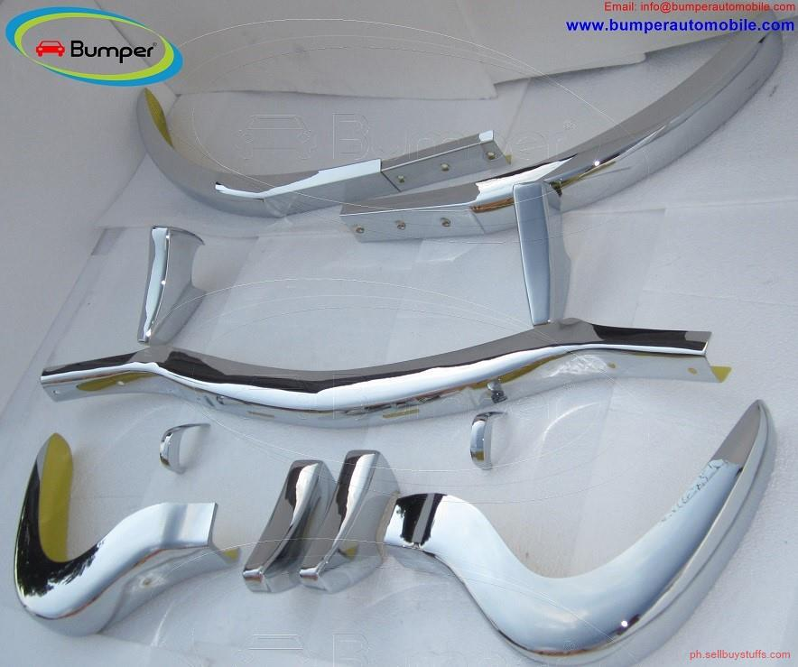 second hand/new: Mercedes 300SL bumper in stainless steel (1957-1963)