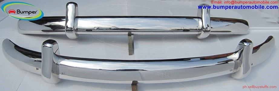 second hand/new: VW Beetle Euro style bumper (1955-1972) by stainless steel