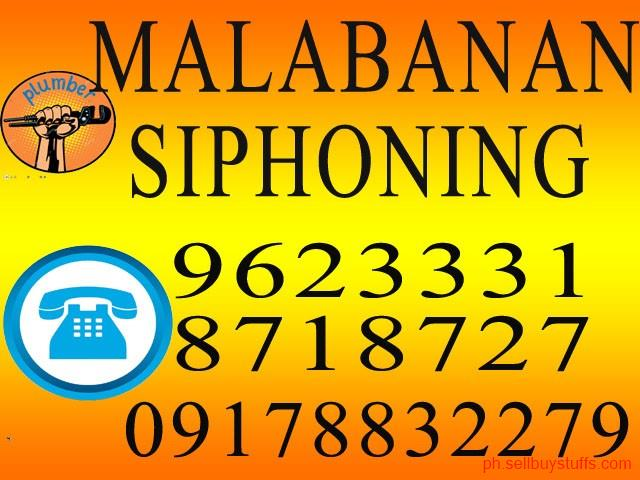 second hand/new: Malabanan Declogging Siphoning Plumbing Services  09178832279 / 09212454576