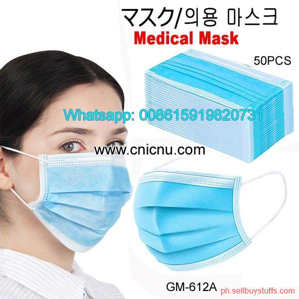 Philippines Classifieds Medical Surgical Mask Disposable Elastic MASKS STOCK