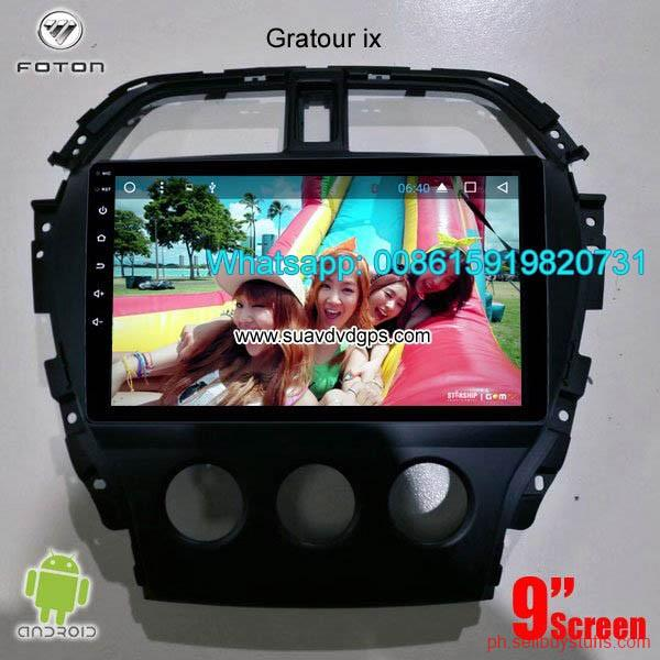 Philippines Classifieds Foton Gratour IX5 IX7 Car radio update android GPS navigation camera