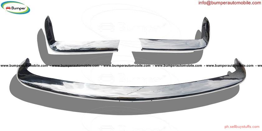 second hand/new: Fiat 124 Spider bumper (1966–1975) in stainless steel