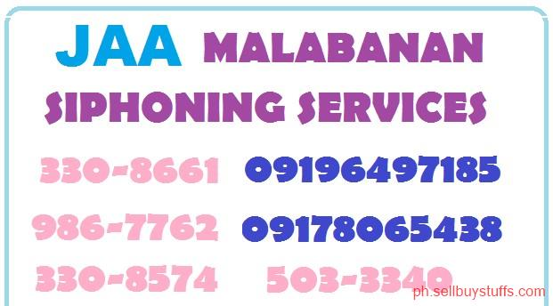 Philippines Classifieds J.A.A Malabanan best in siphoning services 09198065438