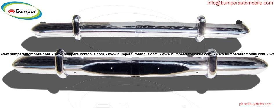 second hand/new: Opel Rekord P2 bumper (1960-1963) in stainless steel