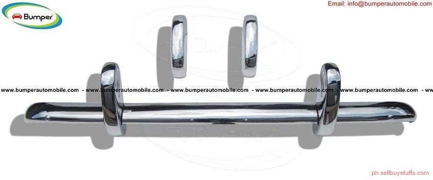 second hand/new: Triumph TR3A bumper (1957–1962) by stainless steel