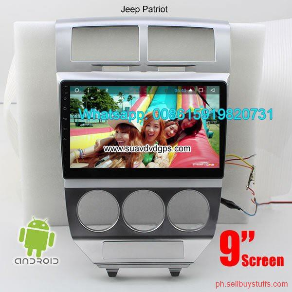 Philippines Classifieds Jeep Patriot Car audio radio android GPS navigation camera